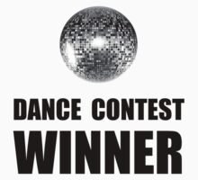 Dance Contest Winner Kids Tee