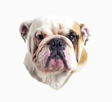 English Bulldog Head Unisex T-Shirt