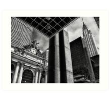 Looking Up at Grand Central Art Print