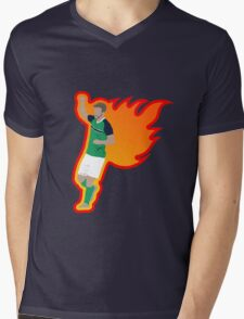 Will Grigg's on Fire Mens V-Neck T-Shirt