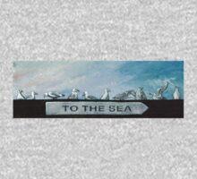 Ten Gulls Baby Tee