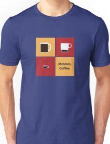 Mmmm, Coffee Unisex T-Shirt