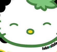 Kush Hella Kushy 420  Sticker