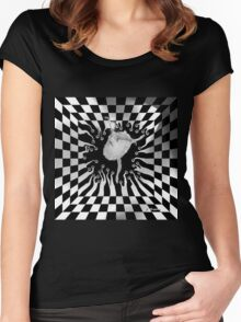 THE IDEAS' MUSE, by E. Giupponi Women's Fitted Scoop T-Shirt