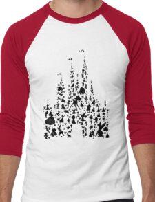 Happiest Castle On Earth Men's Baseball ¾ T-Shirt