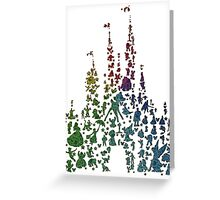 Happiest Rainbow Castle on Earth Greeting Card