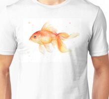 Goldfish Painting Watercolor  Unisex T-Shirt