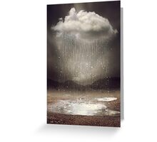 Even the Sky Cries Sometimes Greeting Card