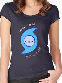 Hurricane | Kawaii Cuties Women's Fitted Scoop T-Shirt