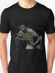 Lyrics & Legends: Muhammad Ali Unisex T-Shirt