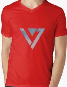 Sky - SEVENTEEN Mens V-Neck T-Shirt