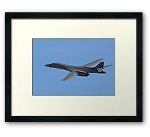 U.S. Air Force B-1B Lancer Bomber Framed Print