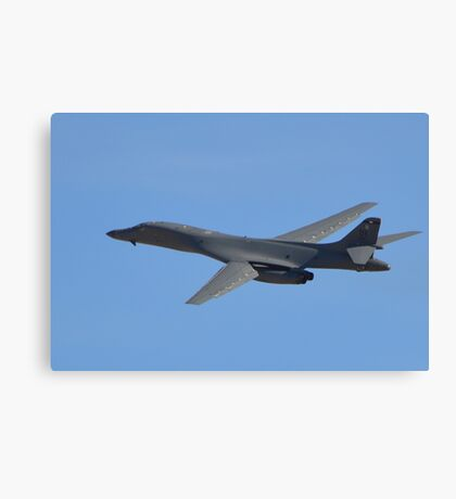 U.S. Air Force B-1B Lancer Bomber Canvas Print