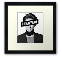 EXO CHANYEOL Framed Print