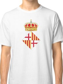 Coat of Arms of Barcelona  Classic T-Shirt