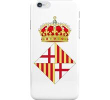 Coat of Arms of Barcelona  iPhone Case/Skin