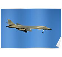 U.S. Air Force B-1B Lancer Bomber Poster