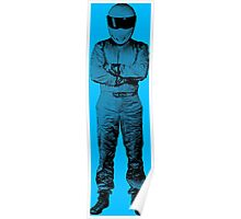 The Stig Pop Art Full Body Poster