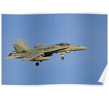 Royal Australian Air Force F/A-18 Hornet Poster