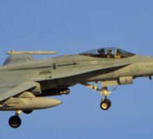 Royal Australian Air Force F/A-18 Hornet Sticker
