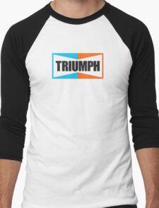 TRIUMPH (black) Men's Baseball ¾ T-Shirt