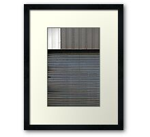 Confrontations II Framed Print
