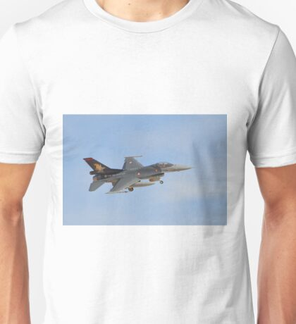 Turkish Air Force F-16 Fighting Falcon Unisex T-Shirt