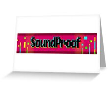 Soundproof Gaming Logo 2 Greeting Card