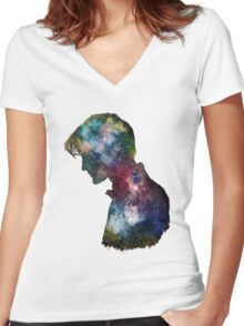 Doctor Who 11th Doctor Women's Fitted V-Neck T-Shirt
