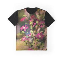 Clematis in Dappled Sunlight Graphic T-Shirt