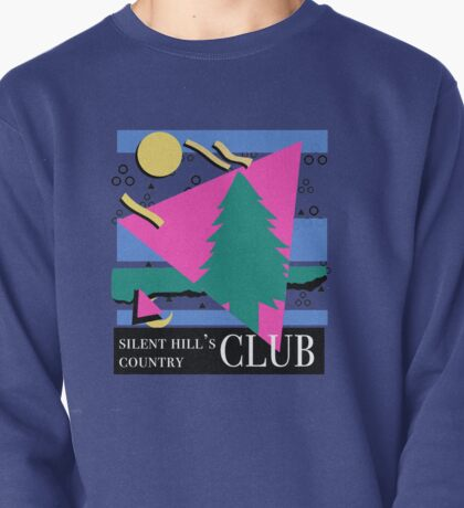 SILENT HILL'S COUNTRY CLUB - 90'S TOURIST TRINKETS Pullover