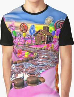 Pink Candyland Graphic T-Shirt