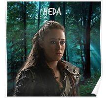 Lexa- The 100 Heda Poster