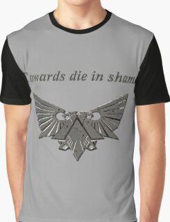 Warhammer 40k Dark Grey Eagle Graphic T-Shirt