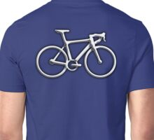Racing Bike, Bicycle, Bevel, Road bike, Push Bike, on Navy Unisex T-Shirt