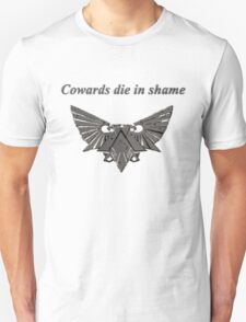 Warhammer 40k Dark Grey Eagle Unisex T-Shirt