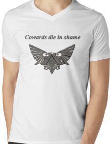 Wh40k Dark Grey Eagle Mens V-Neck T-Shirt