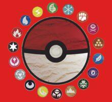 Pokemon - Pokeball Baby Tee