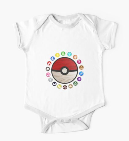 Pokemon - Pokeball One Piece - Short Sleeve