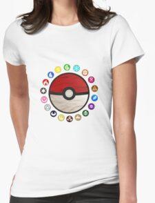 Pokemon - Pokeball Womens Fitted T-Shirt