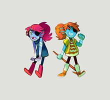 Kid Undyne Womens Fitted T-Shirt