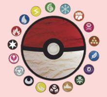 Pokemon - Pokeball One Piece - Long Sleeve
