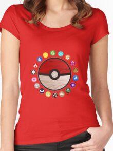 Pokemon - Pokeball Women's Fitted Scoop T-Shirt