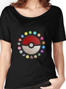 Pokemon - Pokeball Women's Relaxed Fit T-Shirt