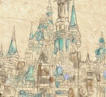 Enchanted Storybook Castle Sticker