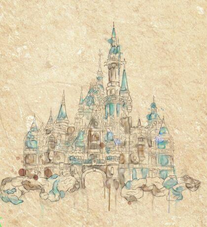 Enchanted Storybook Castle Sticker