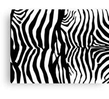 Zebra Skin Pattern Canvas Print