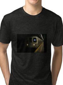 A Train Tri-blend T-Shirt