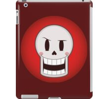 Papyru the friendly and silly skeleton iPad Case/Skin