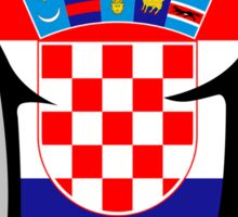 I LOVE CROATIA Sticker